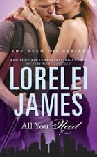 Complete Set Series - Lot of 4 Need You books by Lorelei James (Romance)