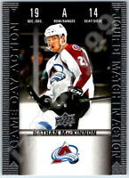 2019-20 UD TIM HORTONS GAME DAY ACTION NATHAN MACKINNON INSERT CARD # HGD14 Mint