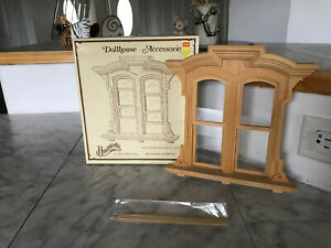 Vtg. 1978 Houseworks Miniature Doll House Window 5-9/16W x 7-3/4H (NEW) #5027