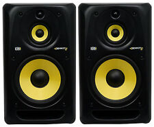 "(2) KRK RP103G3 Rokit 10"" 3-Way Active Powered Studio Monitors/Speakers"