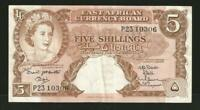 East Arica 5 Shillings 1960 P41a
