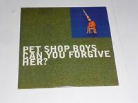 Pet Shop Boys - Can you forgive her? PROMO CD Single