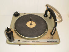"""New ListingMagnavox Imperial Micromatic Stereo 4 Speed Turntable """" 1962 """""""
