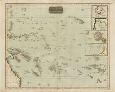 """""""Islands in the Pacific Ocean"""". Owhyhee/Hawaii Otaheite/Tahiti. THOMSON 1817 map"""