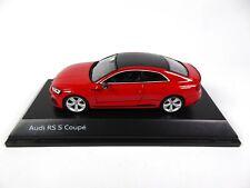 Audi RS 5 Coupé Misano Red 1/43 Spark Dealer Pack Voiture Model Car 715031