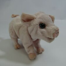 "FurReal Friends Pet Piglet 7"" Interactive Toy Pig Fur Real 2009 Hasbro"