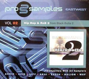 Best Service pro samples Vol. 2 2CD Hip Hop & RnB 2 – From Black Butta 2 NEU OVP