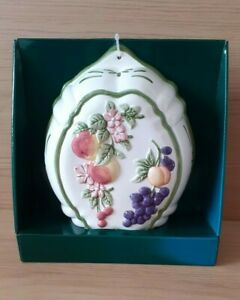 Marks And Spencer - St Michael Home Wall Fruit Plaque - Decorative Purposes Only