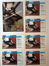 LOT PUBLICITES ANNEES 80 SPECIAL ADIDAS