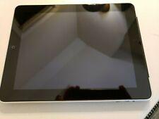 """iPad Model 1337 1st Gen Silver WiFi + 3G AT&T, 9.7"""" Screen"""