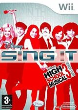 Wii -- Sing It - High School Musical 3 - Senior Year -- NUOVO