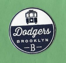 """New Brooklyn Dodgers 'Trolley' 3 """" Iron on Patch Free Shipping"""