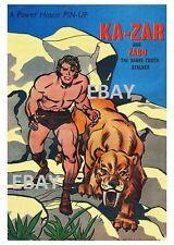 POWER PIN-UP Print - KA-ZAR X-Men Vintage Artwork Marvel UK Distribution