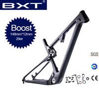 NEW 29er 148*12mm BOOST Carbon Mountain Bicycle Frame Suspension MTB Bike Frames