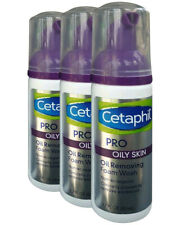 3 Pk Cetaphil Pro Oily Skin Oil Removing Foam Wash Facial Cleanser Travel 1.7 oz