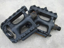 "VP Plastic pedals for 1 or 3-piece-crank - 9 16"", black"