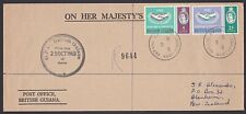 BR GUIANA 1965 ICY set on FDC...............................................Q399