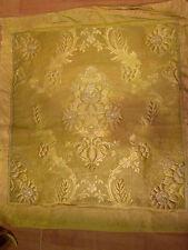 tessuto 19e filo oro argento 19e oggetto decorativo sedile ufficiale arredamento