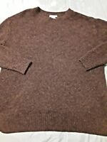 H&M womens sz SMALL S  BLACK WOOL acrylic blend 3/4 sleeve pullover sweater