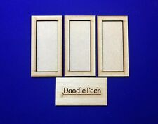 Laser cut MDF Set of 3 Warhammer Movement Tray (5x2) 20mm Infantry Bases 40k