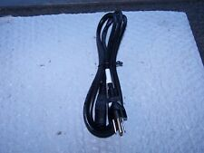6 Foot Standard 3 prong Black Power Cord