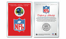 NEW YORK GIANTS NFL Helmet JFK Half Dollar US Coin w/ NFL Display Case LICENSED