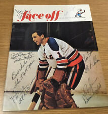 1969-70 San Diego Gulls team signed program 10 players- Willie O'Ree HOF