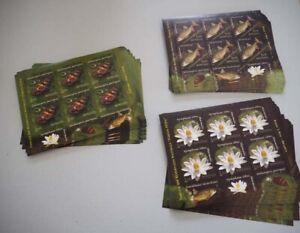 2008 Rumänien; 50 Kleinbogenserien Muschel, **/MNH, Bl. 6334/36, ME 1350,-