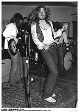 "Led Zeppelin Robert Plant Southampton Univ 1971 Poster 23.5"" x 33"" Uk import"
