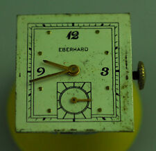 VINTAGE EBERHARD MENS MANUAL WIND WRIST WATCH MOVEMENT - RUNS – ETA 1000
