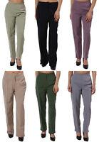 Lot Women Green Purple Gray Dress Work Pants Trousers Slacks 4 6 8 10 12 14 16