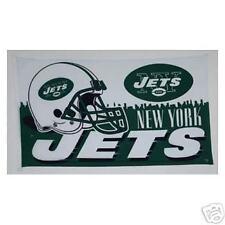 NEW YORK JETS HELMET FOOTBALL NFL 3 X 5 BANNER FLAG NEW