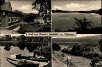 Mölln AK ~1950/60 Drüsensee See Gewässer Mehrbildkarte Brandts Gaststätte Lokal