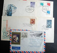 POLAND 5 COVERS LOT c