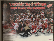 Detroit Redwings 2002 Stanley Cup Championship Team Wall Plaque