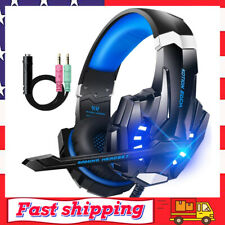 Gaming Headset for PS4 Xbox One Headphone PC Earphone Stereo Sound with Mic