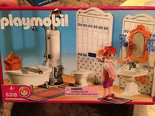 Playmobil 5318 Grand Mansion Victorian Bathroom Set NRFB Retired RARE