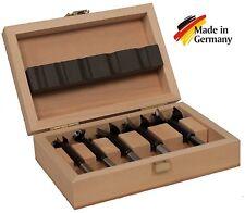 Famag Bormax 1622505 Forstner bits, metric: 15, 20, 25, 30, 35 mm in wooden case