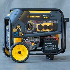 7500/9400w Refurbished Firman Dual Fuel Generator, electric start