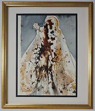 """'67 Salvador Dali Original Biblia Sacra #91 """"Lazare, veni foras"""" Signed - COA"""