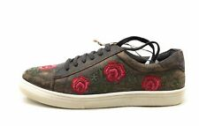 Roper Womens Madeline Sneaker Shoe Brown Rose Floral Size 10.5 M US
