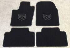 Autoteppich Fußmatten für Dodge Durango schw Anthrazit ab 2010 Velours Nubuk Neu