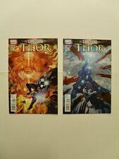 Chaos War : Thor 1 - 2 Complete Set  . Marvel 2011 - VF