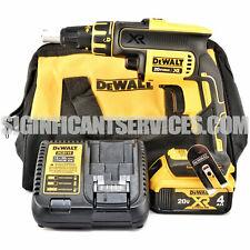 DEWALT DCF620B 20V MAX XR Li-Ion 4.0 Ah Brushless Drywall ScrewGun Kit