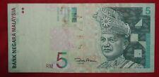 BA11-022 Malaysia Zeti Paper RM5 VF