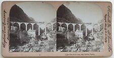Pont du Loup Cannes France Photographie Stereo Vintage Argentique