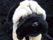 Animal Alley Pug Puppy Dog Black Tan Plush Stuffed Animal