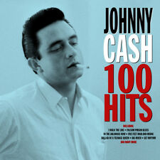 Johnny Cash 100 HITS Best Of 100 Essential Songs COLLECTION New Sealed 4 CD