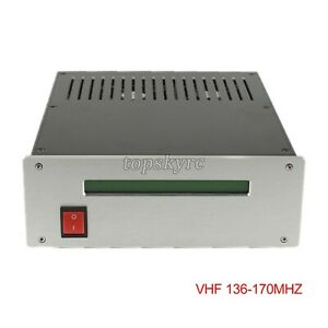 FM Power Amplifier RF Radio Frequency Amp VHF 136-170MHZ for  Broadcasting tps