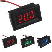 Mini DC 2.5V To 30V Voltage Meter LED 3-Digital Panel Display Volt Voltmeter uk